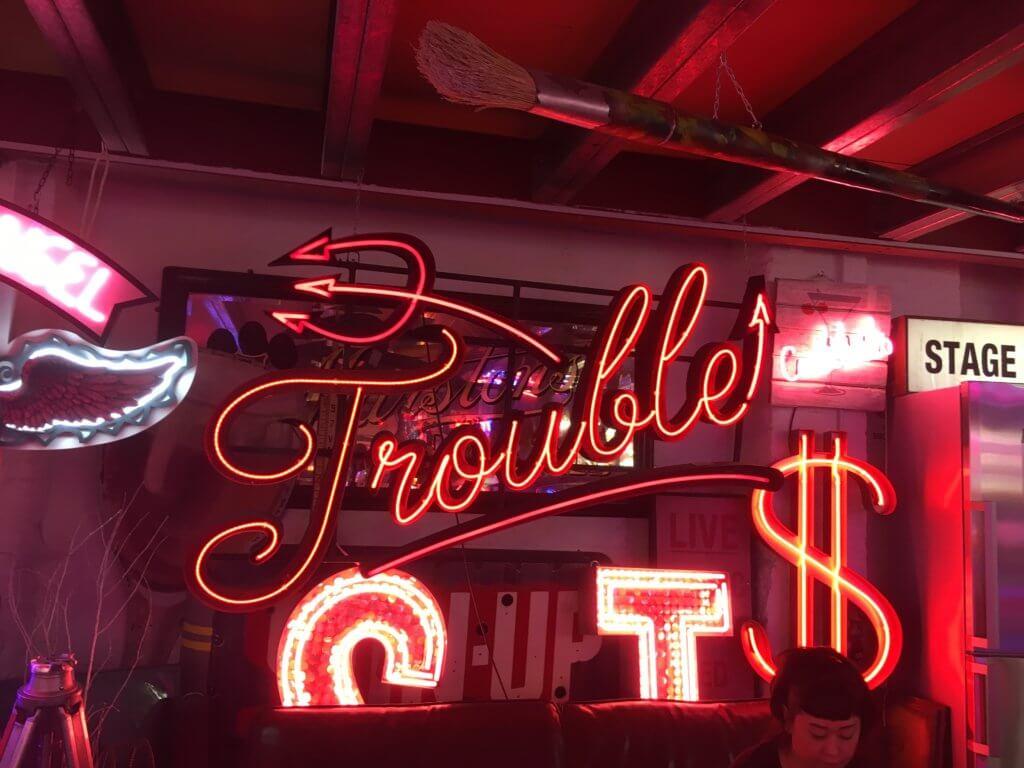 Gods own junkyard london neon signs